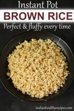 instant pot brown rice