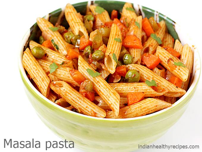 Masala Pasta Recipe How To Make Pasta Indian Style Pasta