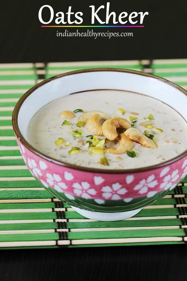 oats kheer oats payasam
