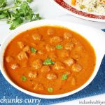 soya chunks curry recipe