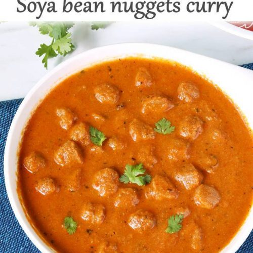 soya chunks curry meal maker curry
