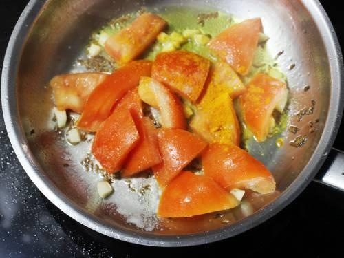 tomatoes for pepper mushroom