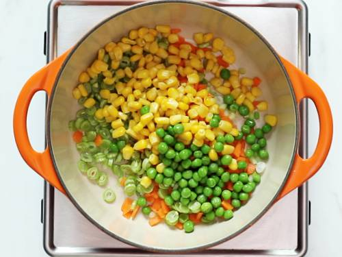 frying mix veggies