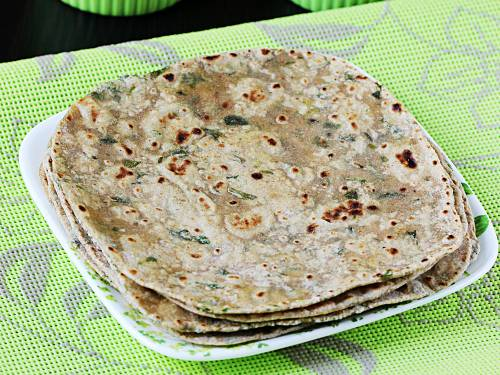 easy methi paratha