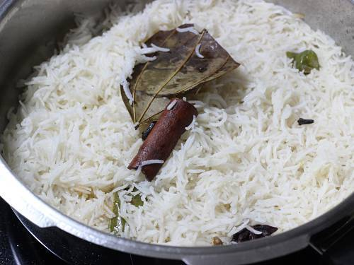 fluffy ghee rice