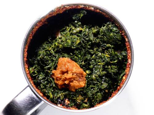 methi leaves and jaggery
