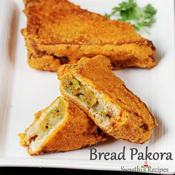 bread chop ki recipe Bread pakora (Bread pakoda)