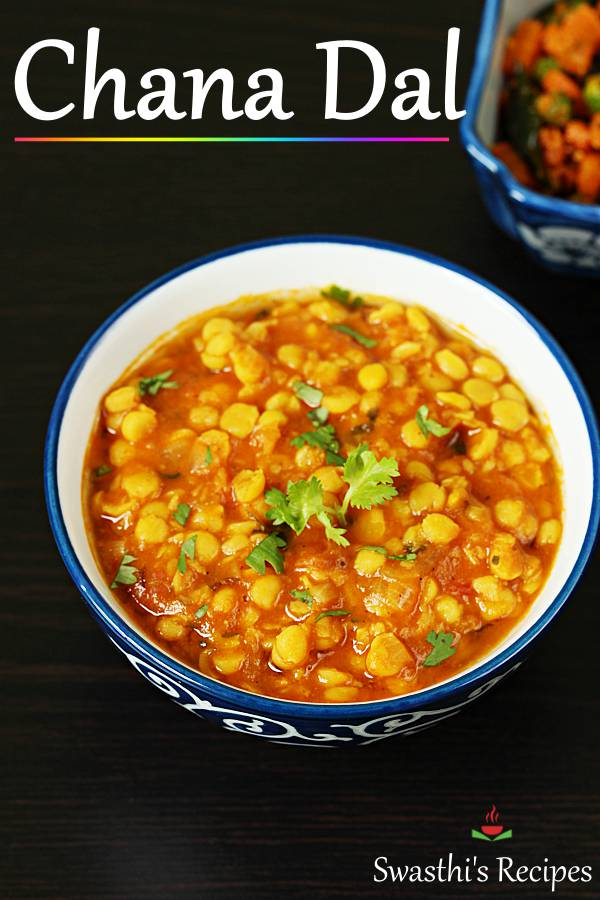 Chana dal is a delicious curry made with bengal gram, spices and herbs. Serve it with rice, roti or paratha. #chanadal #chanadalrecipe