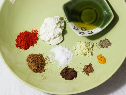 spice powders for chicken shawarma recipe