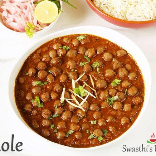 Chole Recipe How To Make Punjabi Chole Swasthi S Recipes