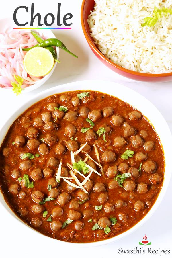 Chole recipe | How to make chole (Stovetop & Instant pot)