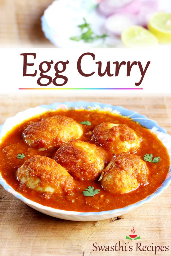 Punjabi egg curry is a delicious dish made of hard boiled eggs in spicy onion tomato masala. Serve with rice, roti or any breads #eggcurry #curry #eggcurryrecipe