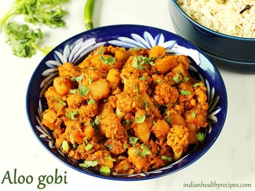 aloo gobi for indian dinner recipes