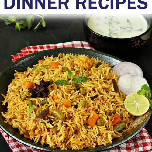 indian dinner recipes