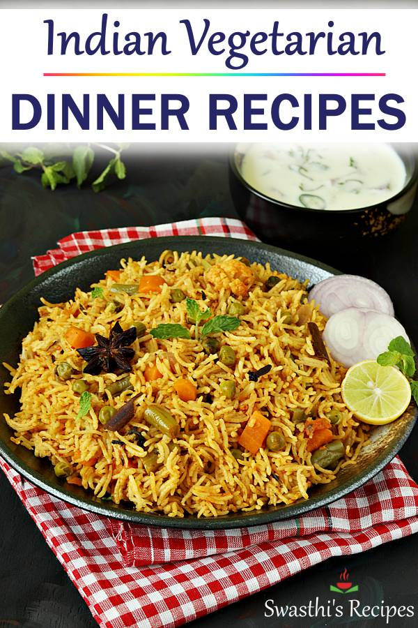 Indian dinner recipes for bachelors & beginners