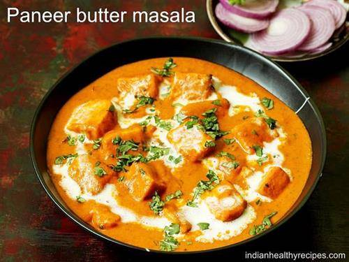 paneer butter masala for indian dinner recipes