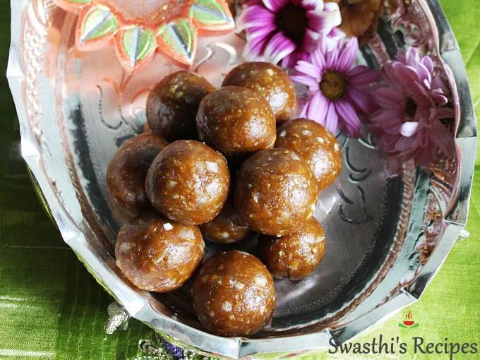 walnut laddu walnut ladoo