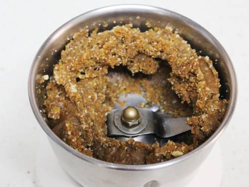 walnut jaggery mixture for walnut ladoo