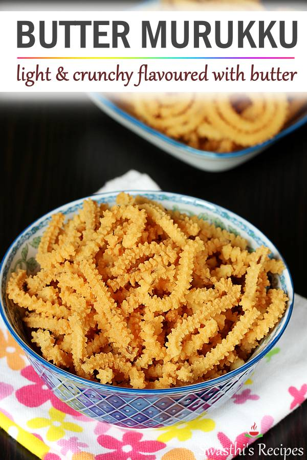 Butter Murukku Recipe How To Prepare Easy Butter Murukku