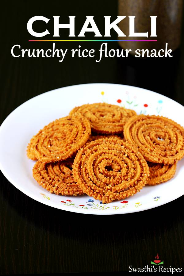 Learn to make perfectly light & crunchy chakli at home with this video and step by step photo recipe. #chakli #chaklirecipe #diwali