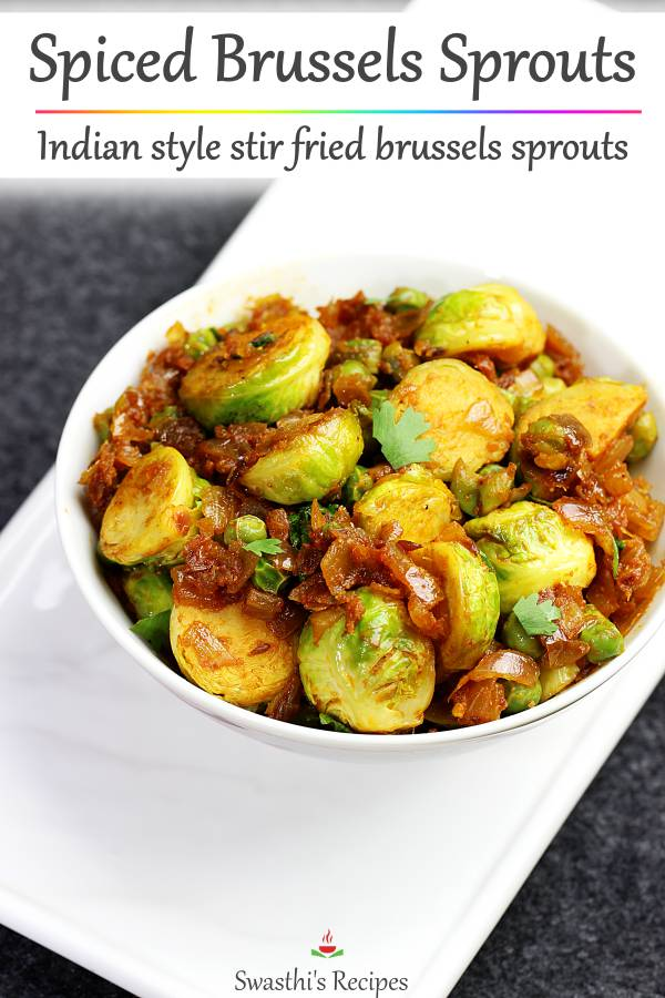 indian brussels sprouts curry