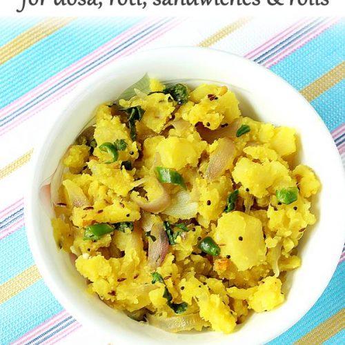 potato masala aloo masala