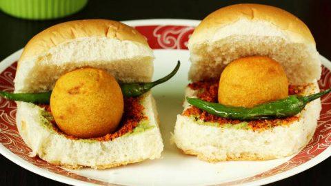Vada Pav Recipe How To Make Vada Pav Swasthi S Recipes