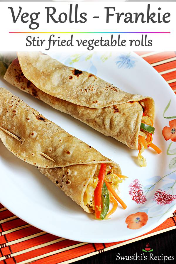 veg roll frankie recipe