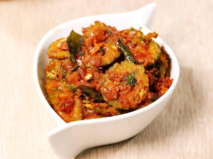 bitter gourd curry karela sabzi recipe