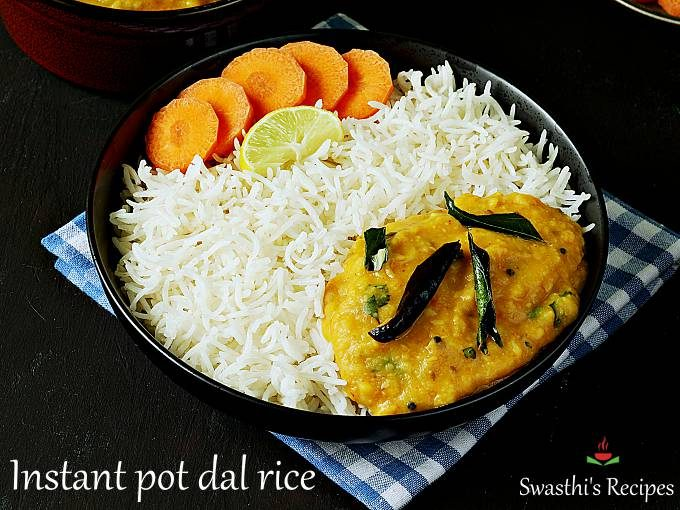 instant pot dal & rice