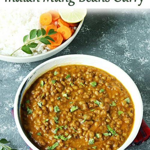 green gram mung bean curry