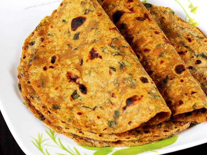 mix veg paratha recipe