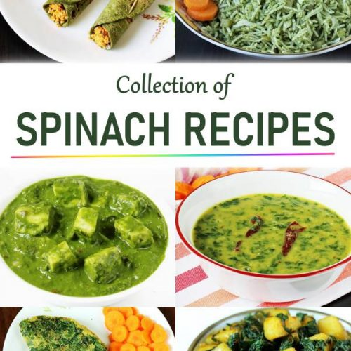 palak recipes