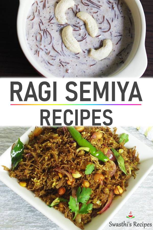 Ragi semiya recipes