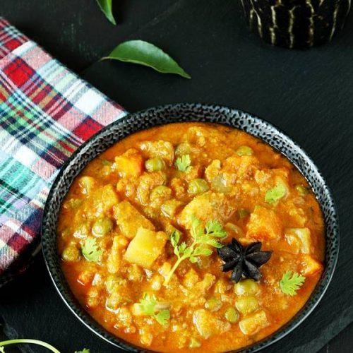 veg kurma vegetable korma