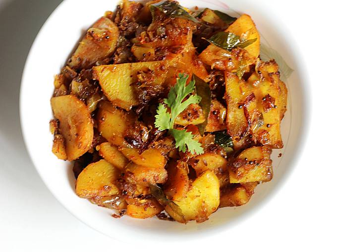 sweet potato stir fry