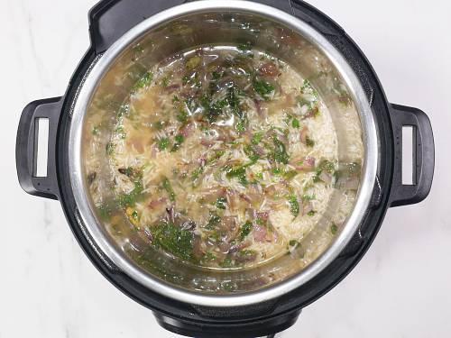 deglazing the instant pot