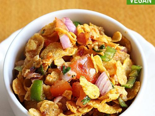 cornflakes chaat recipe