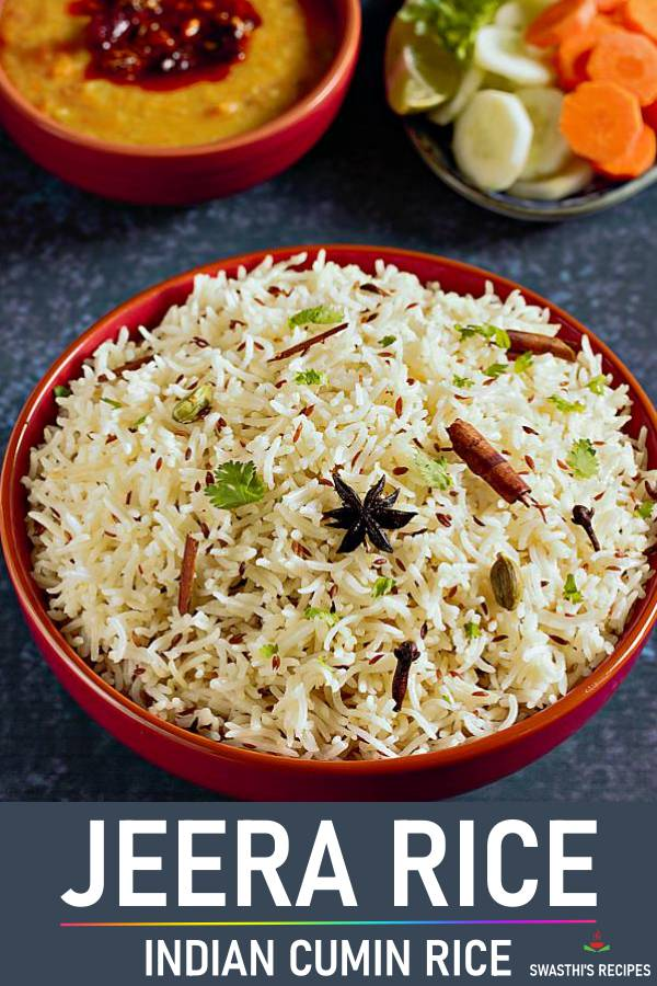 Jeera rice recipe | How to make jeera rice (Jeera pulao recipe)