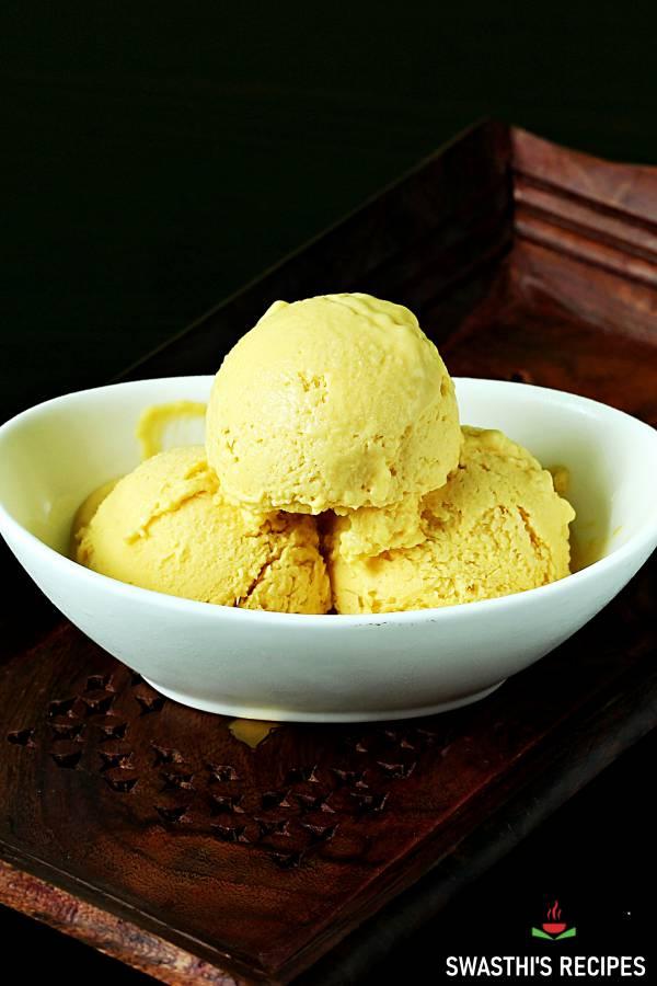 mango ice cream without icecream maker