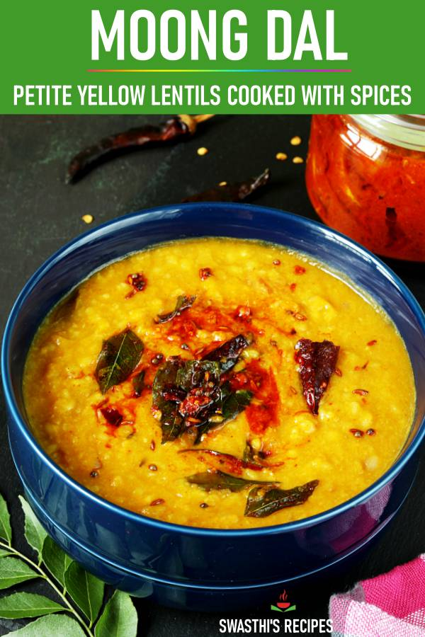instant pot moong dal with tempering