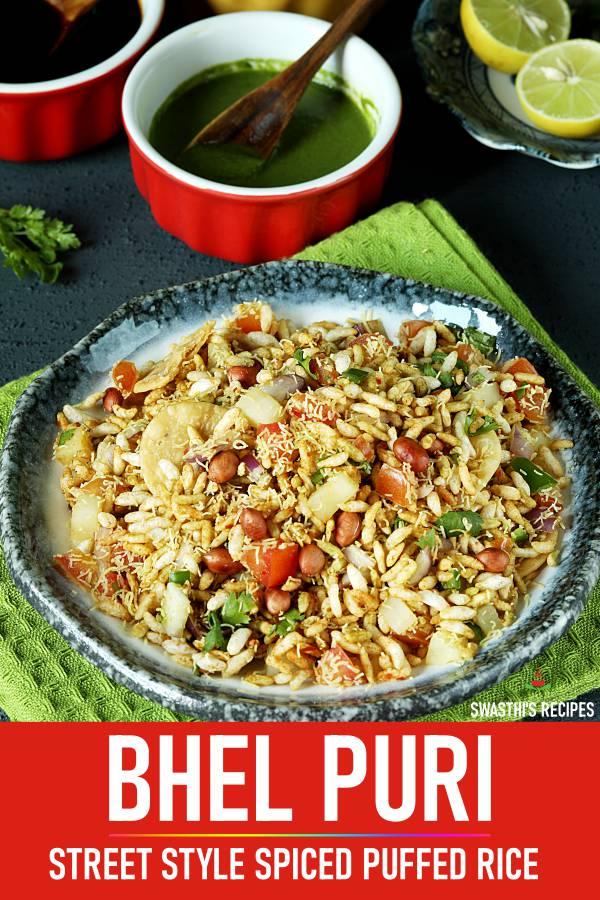 Bhel puri recipe | How to make bhel puri