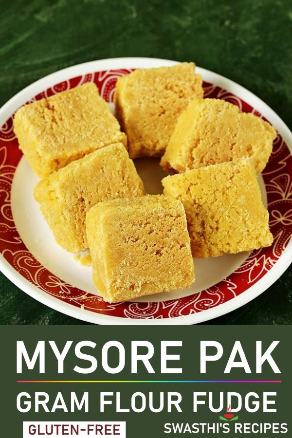 Mysore pak recipe   How to make mysore pak