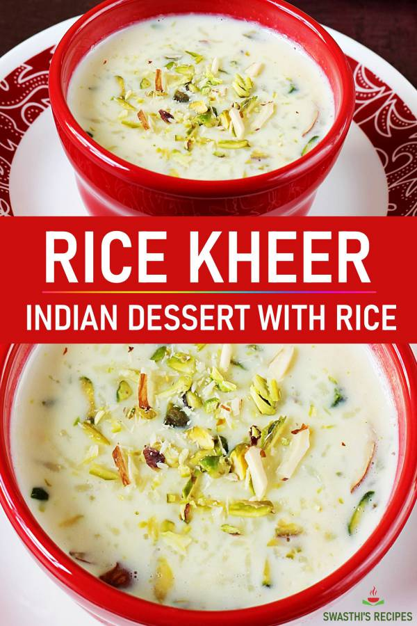 Kheer recipe | How to make rice kheer