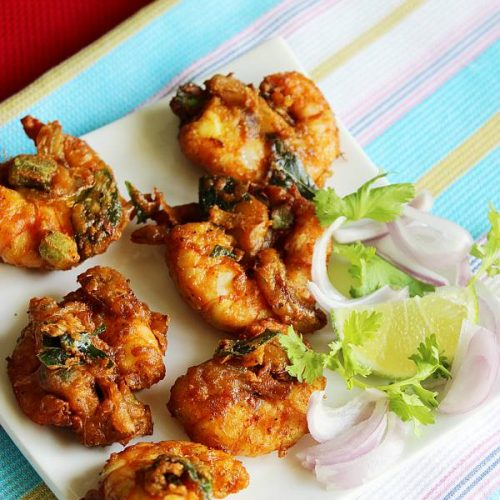 SHRIMP PAKORA