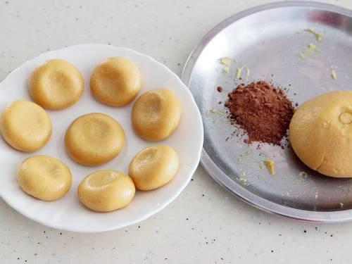 making mawa peda