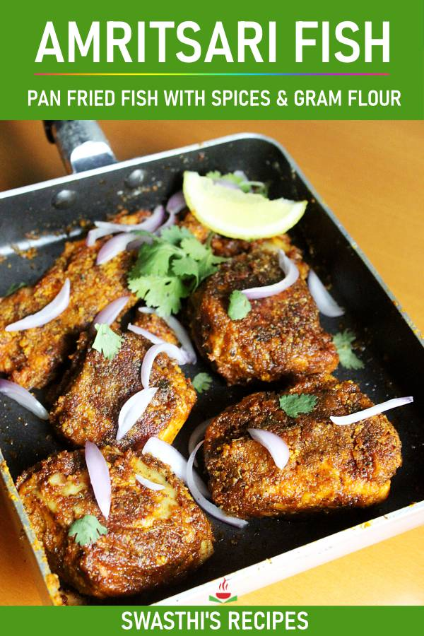 Amritsari fish recipe |  Tawa fish fry