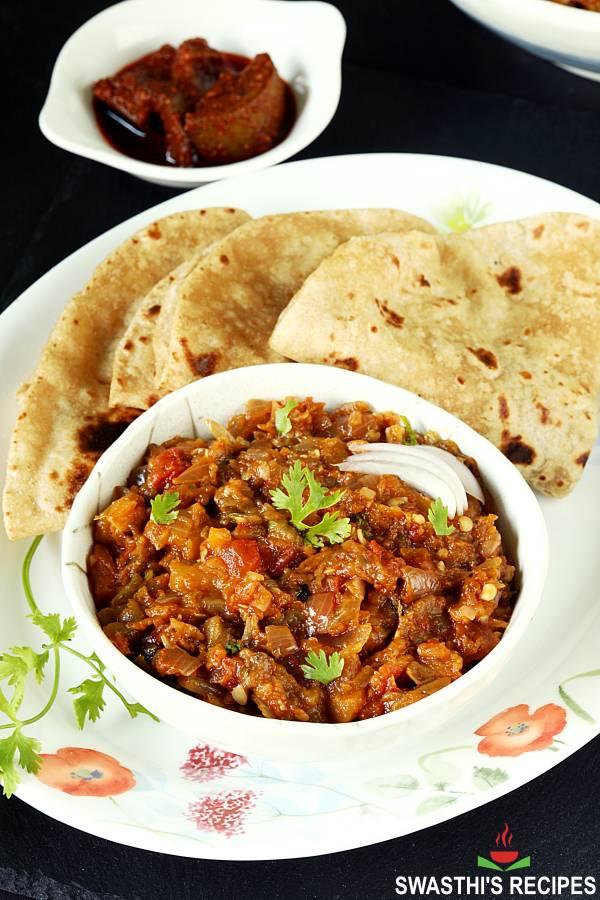 eggplant bharta recipe