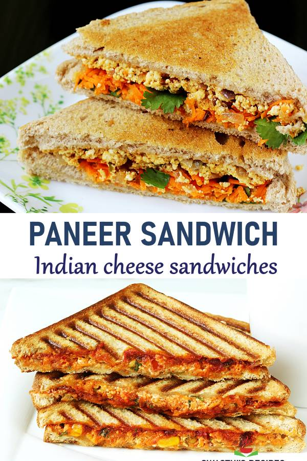 Paneer sandwich recipe | How to make paneer sandwich recipe