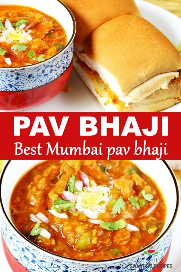 Pav bhaji recipe (Stovetop & Instant pot)